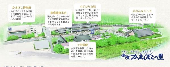 小田原 箱根の観光地 鈴廣かまぼこの里 箱根 小田原のお土産を販売する観光スポット